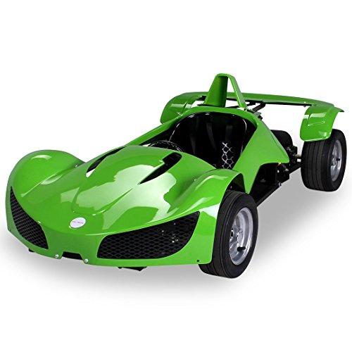 Preisvergleich Produktbild Kinder Elektro MGT Rennwagen 1000 Watt 48 Volt grün Kinder Go-Kart Kinderbuggy Rennauto