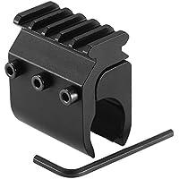Lixada 20mm Rail Base Adapter Caza Visor de Puntería Convertidor Base Linterna Montaje