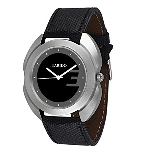 Tarido New style Black Dial Analog watch for Men