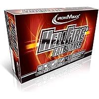 IronMaxx Hellfire Fatburner TriCaps – Premium Fatburner Kapseln zum effektiven Abnehmen von Körperfett während des Trainings – 1 x 60 Kapseln