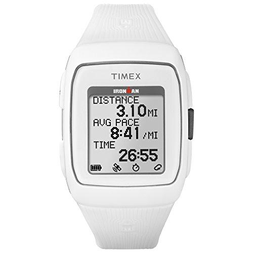 Timex Ironman GPS Silikon Armbanduhr, Ironman, weiß