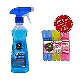 PELICAN Glass Cleaner Pump 2X More Shine (250 ml + 250 ml + Get 1 Free)