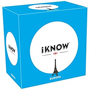 Tactic iKNOW Europe Adultos Juegos de Preguntas - Juego de Tablero (Juegos de Preguntas, Adultos, 45 min, Niño/niña, 15 año(s), 99 año(s))