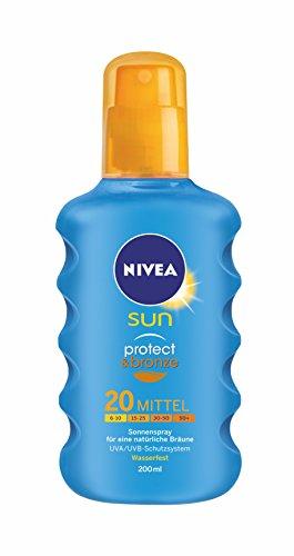 Nivea sun – Protect & bronze, spray solar, lsf 20, (200 ml)