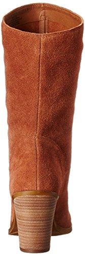 Lucky Brand Embrleigh Rund Wildleder Mode Mitte Calf Stiefel Chipmunk