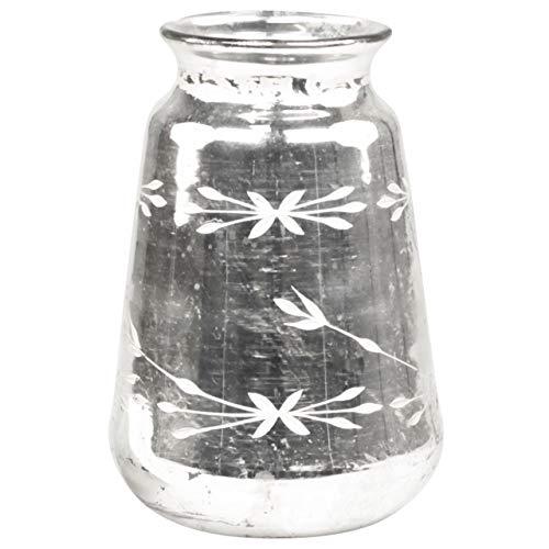 t Schliff Antik Silber Bauernsilber 2 Größen (H 20 cm) ()