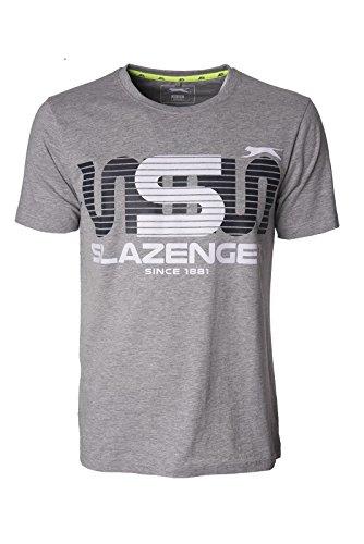 Slazenger -  T-shirt - Uomo Grey