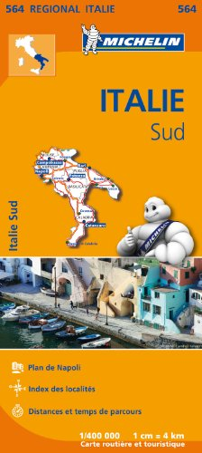 Carte Italie Sud Michelin par Collectif MICHELIN