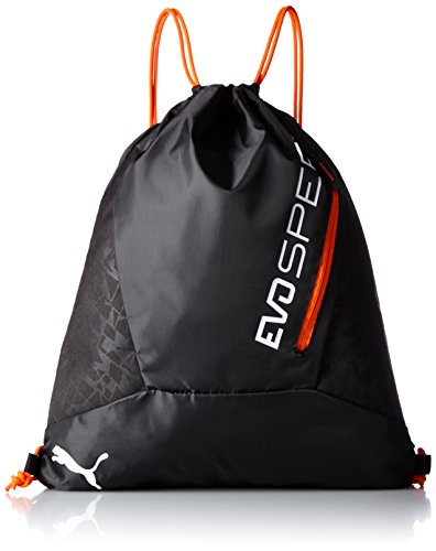 PUMA Turnbeutel evoSPEED Gym Sack, Puma Black/Red Blast, 27.4 x 20 x 48 cm, 1.0 liter, 074309 01 (Puma Collection Red)