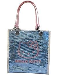 Bonjour Kitty Bleu Petit sac à main à sequins brillants