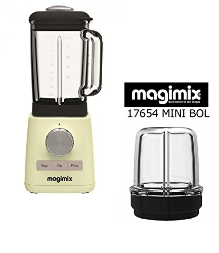 Magimix Blender Marfil ON Omaggio minibacinella angular