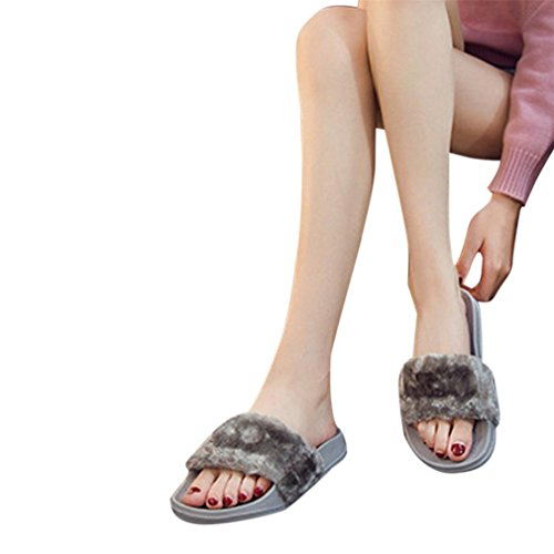 Ciabatte Donna Summer slippers Grigio