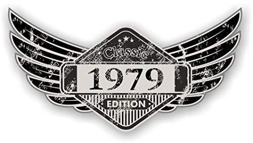 Verzweifelt Im Alter Geflügelt Klassisch Edition Krone Jahr Vom 1979 Vintage Retro Cafe Racer Design Außen- Vinyl Auto Motorrad Aufkleber 125x67mm - Krone Sitz