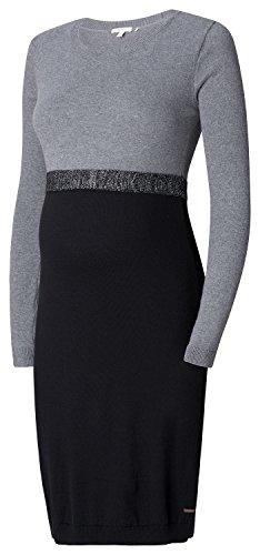 ESPRIT Maternity Damen Umstandskleid Mehrfarbig (Black 001)