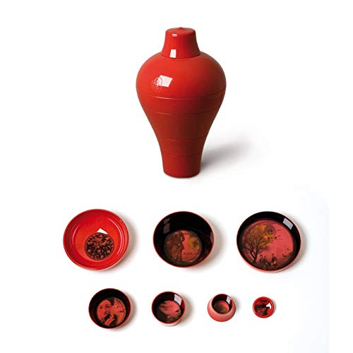 Vaisselle mélamine Rouge vase