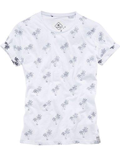 ROADSIGN australia T-Shirt Sunny Palms Weiß