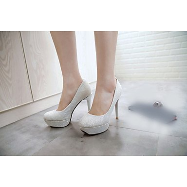 Zormey Damen Sandalen Sommer Club Schuhe Microfaser Casual Stiletto Heel Rot Pink Silber Gold US8.5 / EU39 / UK6.5 / CN40
