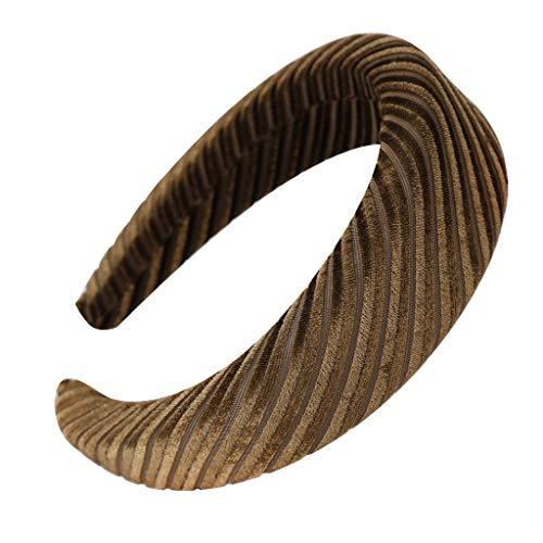 Honestyi Mode Schwamm samt Haarband Frauen haarkopf Hoop süße mädchen 7 6 8 HANDGEMACHTE große Fettschaum Schwamm Ring Samt Stirnband Haarpflege Schmuck