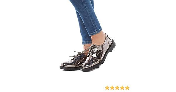 Lifestyle Life & Style Schuhe Damen Halbschuhe NIO G15 62 QQ GRAU Grey Women