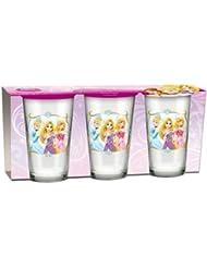 Easy Licences vaso de café de princesas Disney, juego de 3, Multi-color