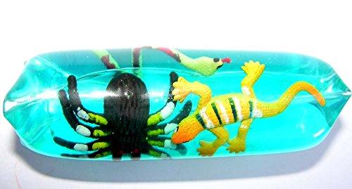 1 x Wasserflutschi Flutschi Wasserschlange mit Reptilien ca. 12 cm spielen+sammeln Mitbringsel (Kostüme Schwertfisch)