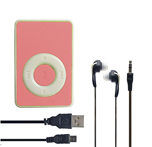 SMM Mini Ipod Portable MP3 Player - Pink