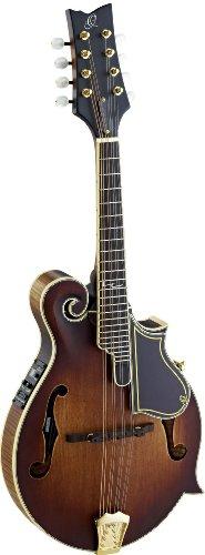 Ortega RMFE100AVO Mandoline F-Style mit Preamp-System eingebautem chromatischem Stimmgerät antique...