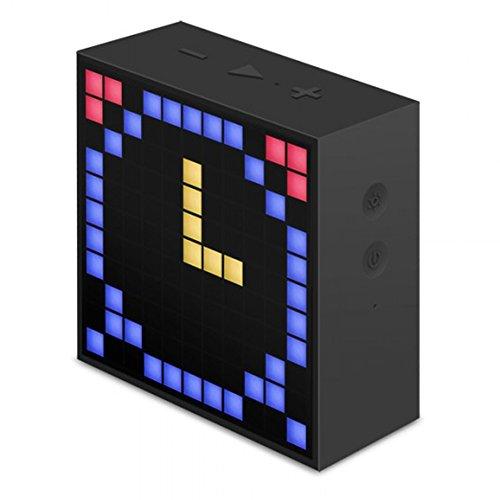 Divoom Timebox Mini Bluetooth Lautsprecher (LED-Anzeige) schwarz