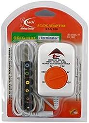 X Tech AC to DC 3V 4.5V 6V 9V 12V Power Switching Adapter with 500mA Output