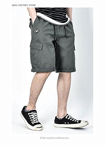 Männer beiläufige Kurzschluss-Qualitäts-multi Taschen-taktische Kurzschlüsse für Männer, Armeegrün, 3XL