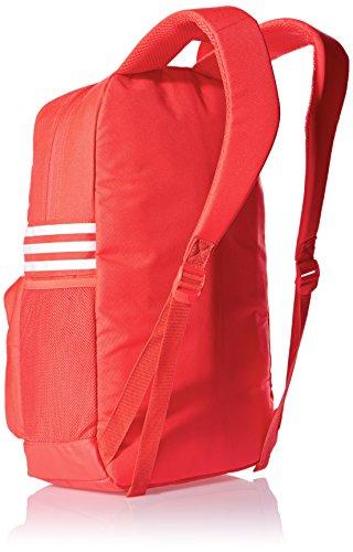 adidas Asbp M 3s Rucksack rot/weiß