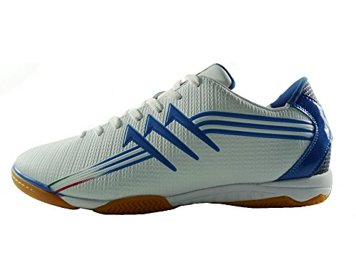 AGLA FIVE INDOOR PROFESSIONAL NEW Chaussures de football avec anti-choc Blanc Cassé - blanc
