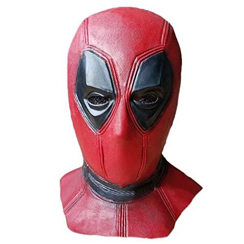 Film DP Cosplay Kostüm Replik Maske Kopf Cosplay Halloween Maske Kostüm Prop,A-OneSize ()