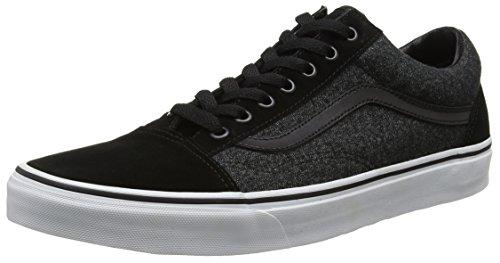 Vans Old Skool, Chaussures de Running Homme Noir (Suede/suiting)