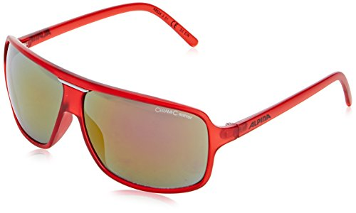 ALPINA Fahrradbrille Manja Red Matt One Size