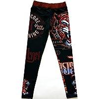 Hardcore Training Kids Compression Pants Tiger - Spats BJJ Sport Kinder Kompression Hose