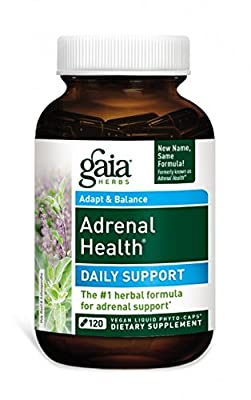 Gaia Herbs Adrenal Health, 120-capsule Bottle