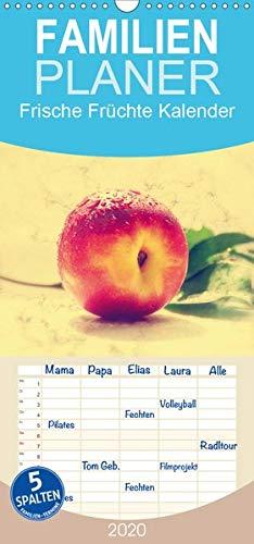 Frische Früchte Kalender - Familienplaner hoch (Wandkalender 2020, 21 cm x 45 cm, hoch)