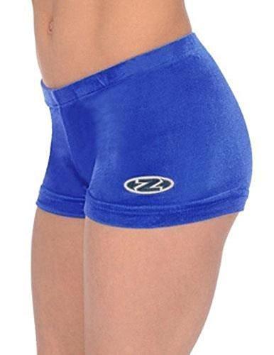 Mädchen The Zone Gymnastik Shorts/Shorts alle farben/Alle Größen - Königsblau, 34 Damen 38