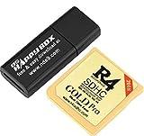 JAYSON WHITEHEAD 2018 - Adattatore Scheda di Memoria Micro SD per R4 SDHC, per DS 3DS 2Ds Ndsl NDS HS