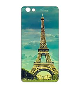 Happoz Little Girl with Water Oppo F3 back cover Mobile Back Covers Funky Graphics Premium Imported Panels Z1166