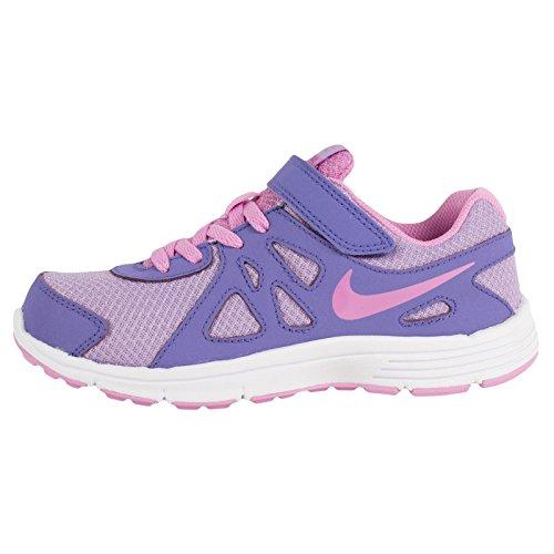 Nike Bambina Revolution 2 PSV scarpe sportive Multicolore (Morado / Rosa / Blanco (Hydrngs / Lt Mgnt-Prpl Hz-White))