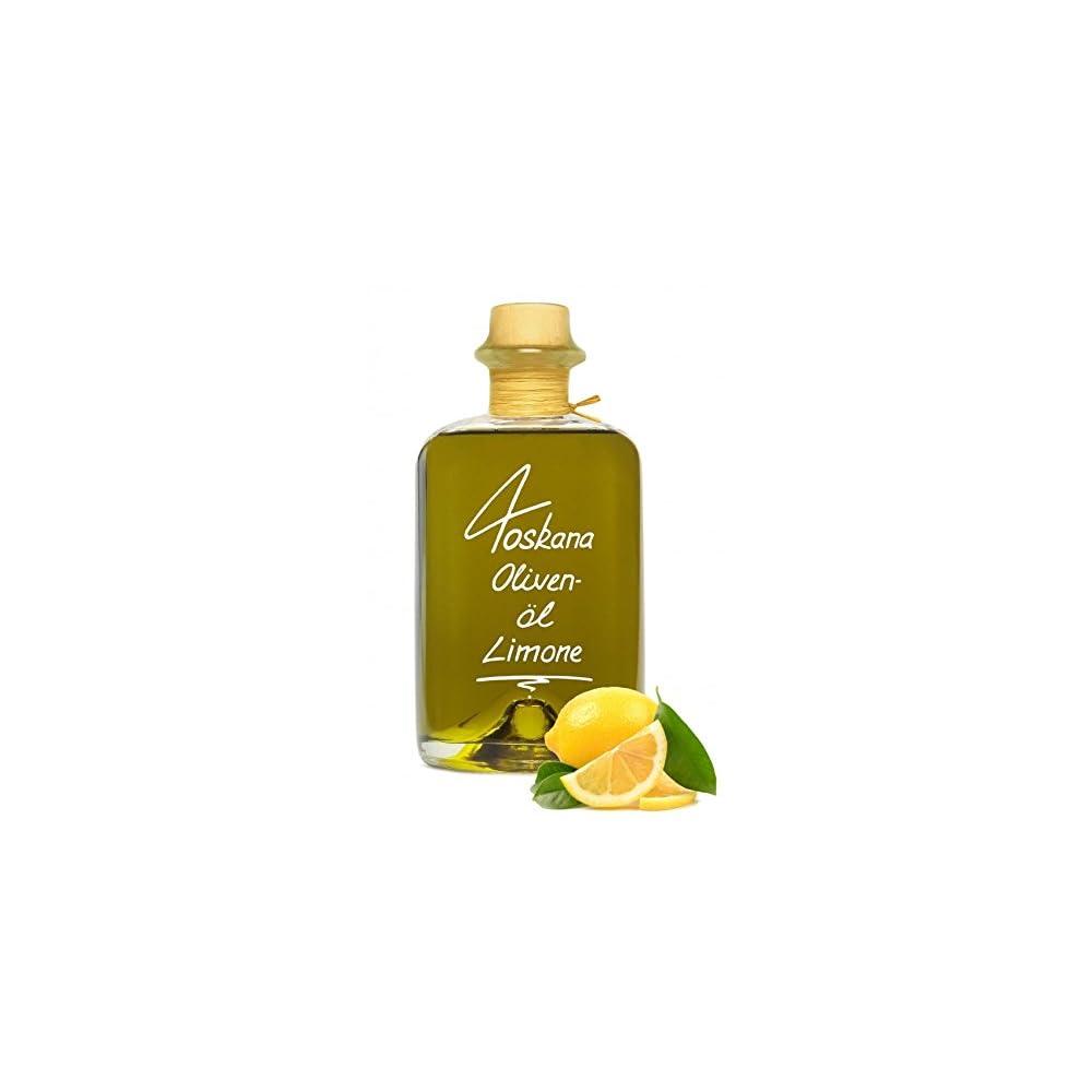 Olivenl Limone Zitrone Aus Der Toskana 1l Extra Vergine Erste Kaltpressung