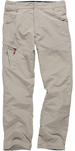 Soft-touch-khaki-hosen (Gill Mens UV Tec Segelyacht und Jollenhose Khaki - Leichtgewicht - 50+ UV-Schutz - Schnell Drying)