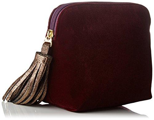 Bensimon - New Pocket, Pochette da giorno Donna Viola (Velours Violet)