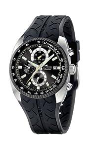 Reloj Lotus 15423/3 de cuarzo para hombre con correa de caucho, color negro de Lotus