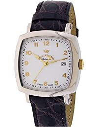 Montre Philip Watch Inspiration R8211121015 automatique acier Quandrante Blanc Bracelet Cuir