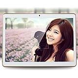 "Hanbaili Tablet Pc 3G 10""Tablet Pc Mt6582V Octa Core 1Gb Ram 32Gb 16Gb Rom Android 5.1 Gps Dual Camera 12 Million Pixels Rear Front 800 Million Pixels Gold+AU Plug"