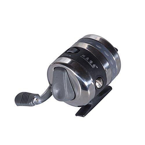Eleganantstunning Geschlossene Angelrolle Links/Rechts austauschbare Spincast-Rolle, Salzwasser, Süßwasserangeln