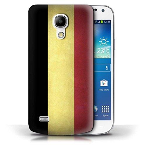 Etui / Coque pour Samsung Galaxy S4 Mini / Columbia/Colombie conception / Collection de Drapeau Belgique
